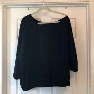 Banana Republic slightly off one shoulder top